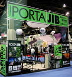 Porta-Jib booth at NAB