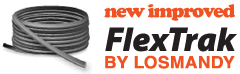 Losmandy FlexTrak - Lightweight Flexible Portable Dolly Track