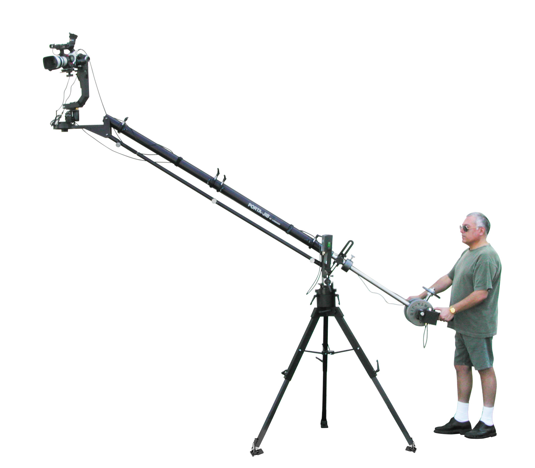 how to use a jib